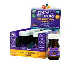 Inner-eco 12 pack, Water, Coconut, Berry, Gluten Free, 1 oz
