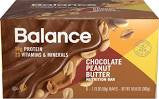 Balance 6 pack Bar Chocolate Peanut Butter 1.76 oz