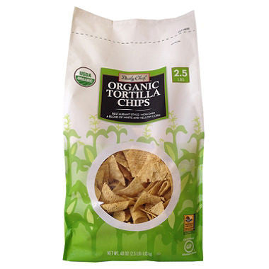 Daily Chef Organic Tortilla Chips (40 oz.)