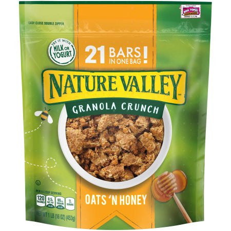 Nature Valley Oats 'n Honey Granola Crunch 16 oz. Pouch