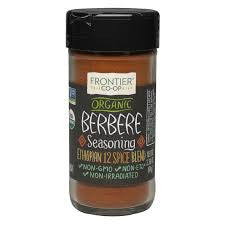 Frontier Natural Foods 1 ct, Seasoning, Berbere 2.3 oz