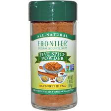 Frontier Natural 1 ct, Spice, Five Spice Powder, 1.92 oz