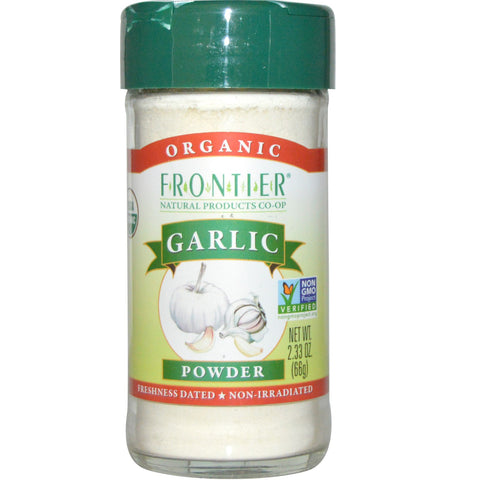 Frontier Natural 1 ct, Herbs & Spices, Garlic Powder, Organic 2.3 oz