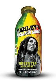 Marley`s 12 pack case, Tea, Relax, Green Tea w/Honey, 15.5 oz