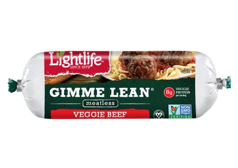 Light Life Foods 12 pack, Ground Meat, Gimme Lean, Beef Style 14 oz