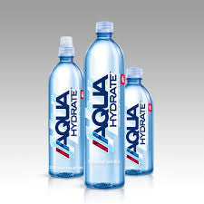Aqua Hydrate, 24 pack case, Water, 16.9 oz