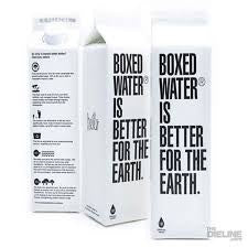 Water Boxed 24 pack case Water Purified Boxed 16.9 oz