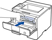install toner cartridge