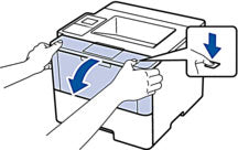 Open printer cover