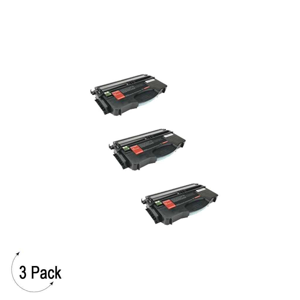 Compatible Lexmark E120 Black -Toner 3 Pack (12035SA)