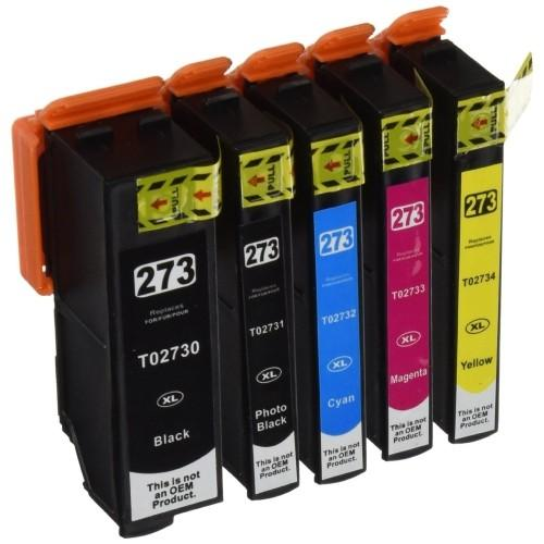 Compatible Epson T273XL BK/PB/C/M/Y -Ink  pack