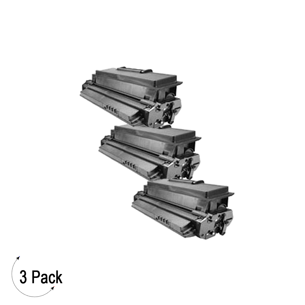 Compatible Samsung ML 2550DA Black -Toner 3 Pack  (ML-2550DA)
