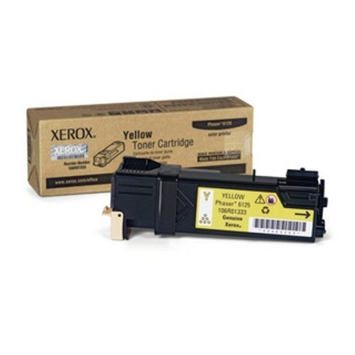 Xerox Phaser 6125 Yellow -Toner original (106R01333)
