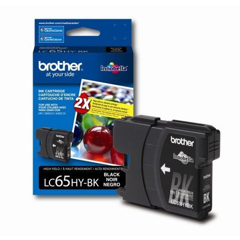 Brother LC 65 Black -original Ink
