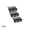 Compatible Lexmark T640 T642 T644 Black -Toner 3 Pack (64035HA)