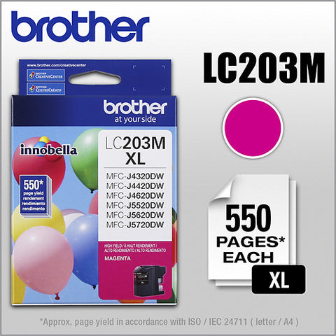 Brother LC 203 Magenta -original Ink
