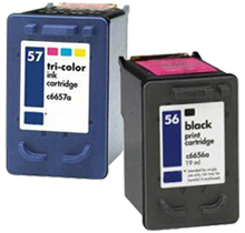 Compatible HP 6656/6657SET- BK/CL -Ink  Set