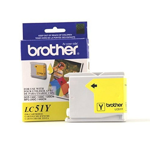 Brother LC 51Y Yellow -original Ink