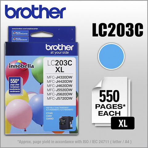 Brother LC 203 Cyan -original Ink