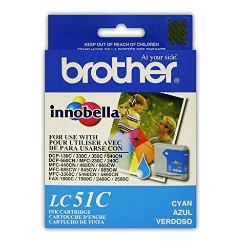 Brother LC 51C Cyan -original Ink