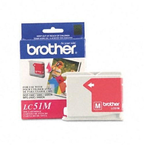 Brother LC 51M Magenta -original Ink