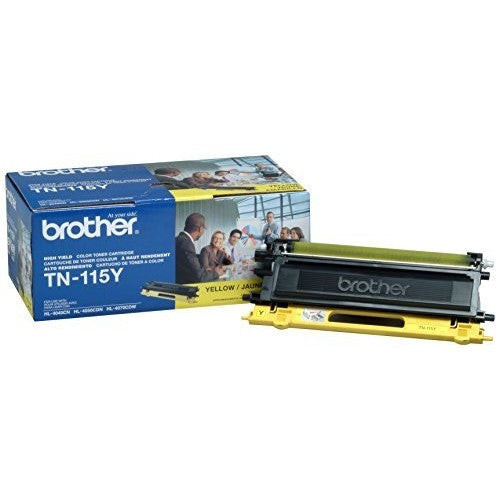 Brother TN 115 Yellow -original Toner