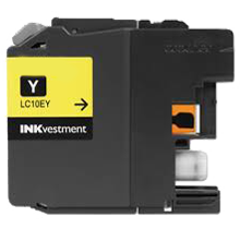 Compatible Brother LC-10EY Yellow  ink - Buy Direct!