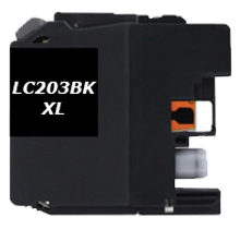 Compatible Brother LC-203BK Black  ink - Buy Direct!