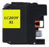 Compatible Brother LC-203Y Yellow  ink - Buy Direct!
