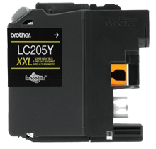 Compatible Brother LC-205Y Yellow  ink - Buy Direct!