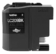 Compatible Brother LC-209BK Black  ink - Buy Direct!