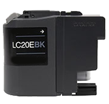 Compatible Brother LC-20EBK Black  ink - Buy Direct!