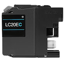 Compatible Brother LC-20EC Cyan  ink - Buy Direct!