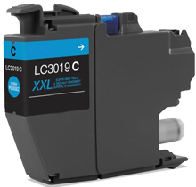 Compatible Brother LC3019C Extra High Yield Ink Cyan