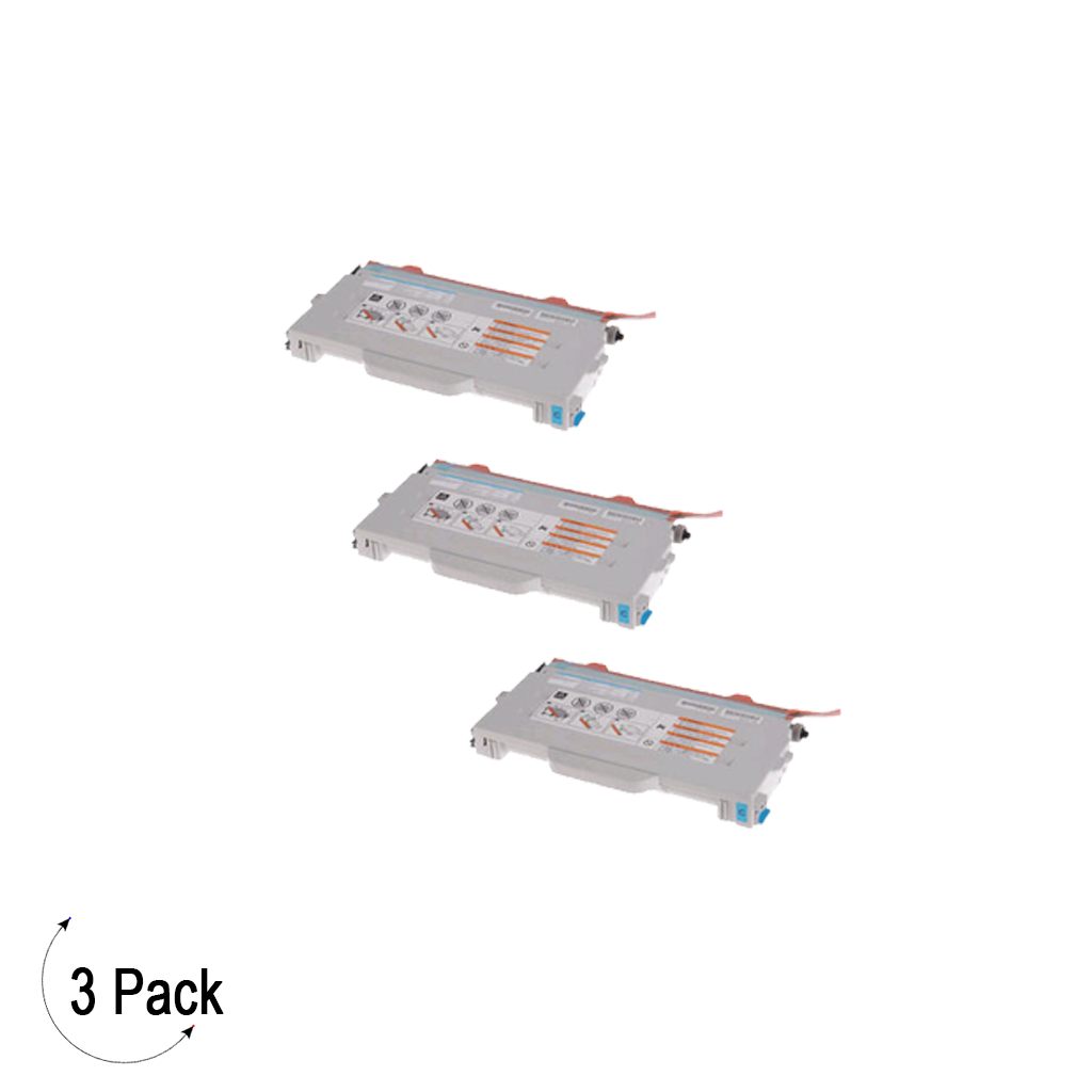 Compatible Brother TN 04C Cyan Toner 3 Pack