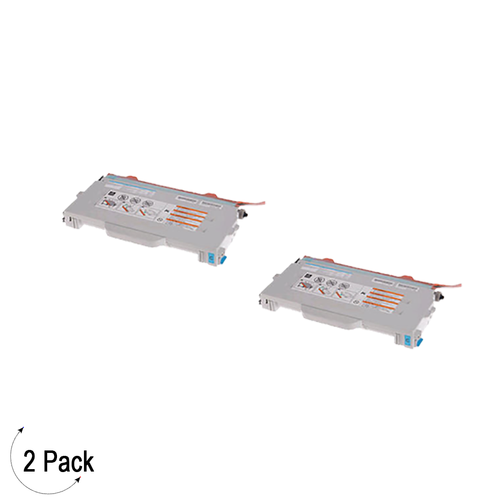 Compatible Brother TN 04 Cyan Toner 2 Pack