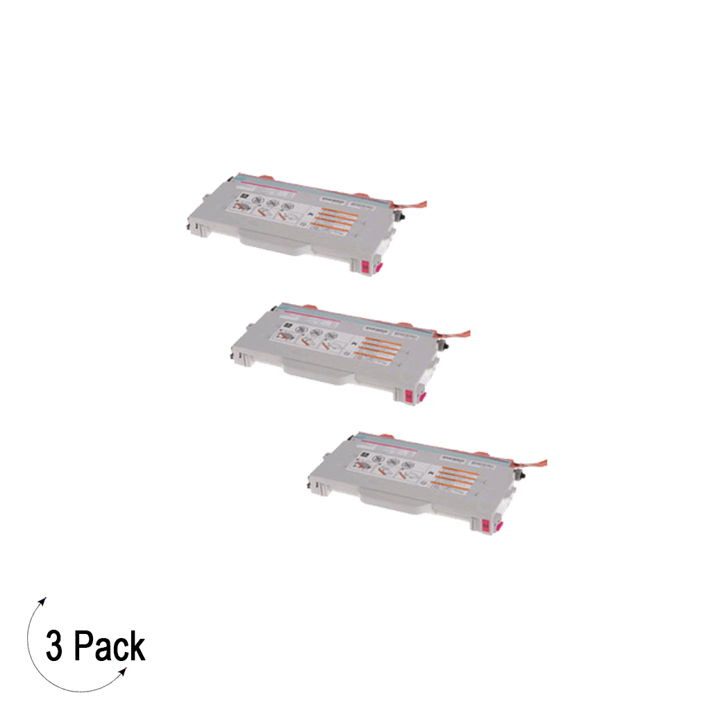 Compatible Brother TN 04M Magenta Toner 3 Pack