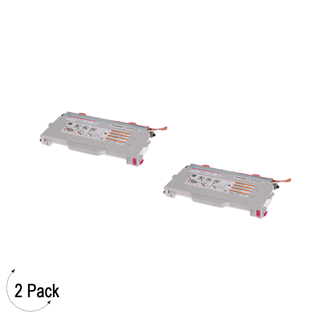Compatible Brother TN 04 Magenta Toner 2 Pack