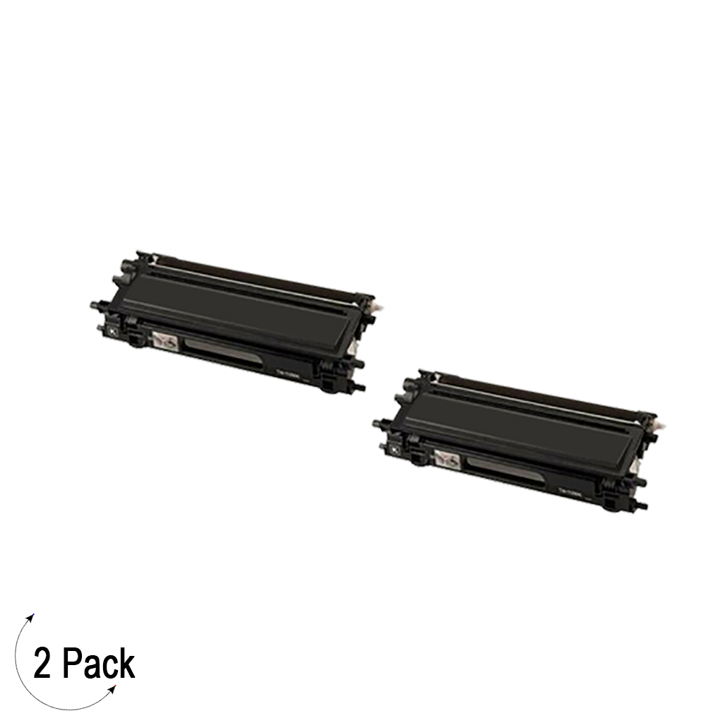 Compatible Brother TN 115 Black Toner 2 Pack