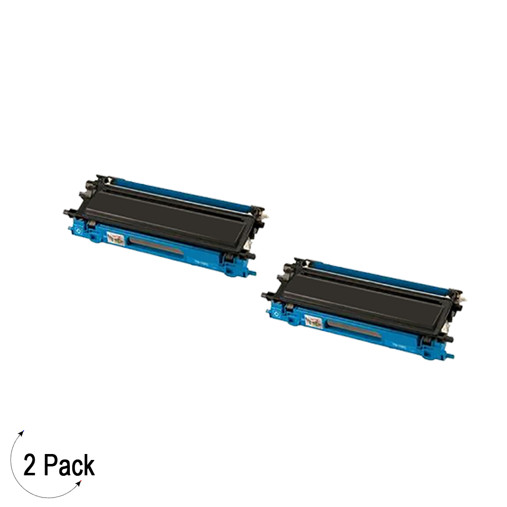 Compatible Brother TN 115 Cyan Toner 2 Pack