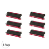 Compatible Brother TN 115 Magenta Toner 6 Pack