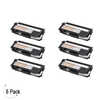 Compatible Brother TN 315 Black Toner 6 Pack