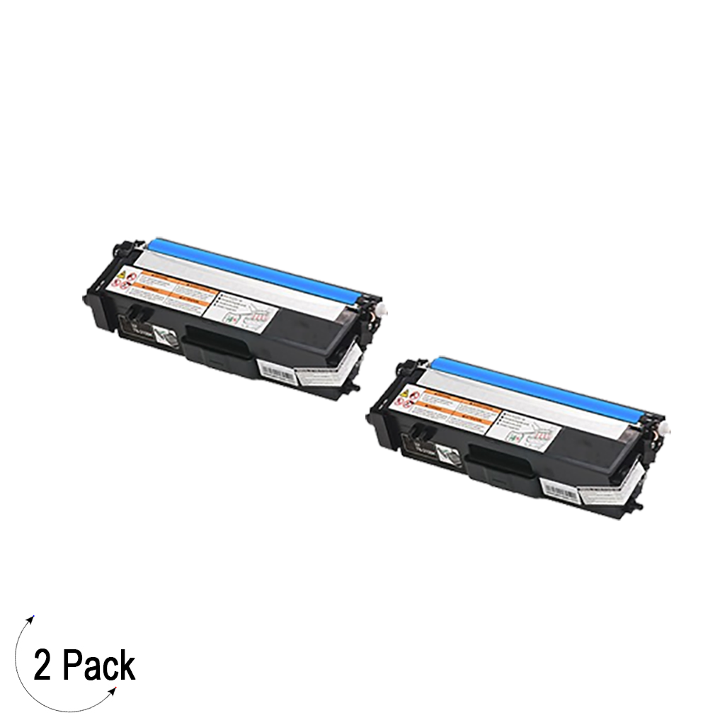 Compatible Brother TN 315 Cyan Toner 2 Pack