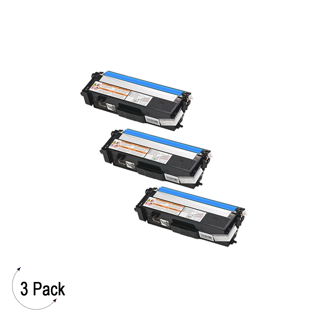 Compatible Brother TN 315 Cyan Toner 3 Pack