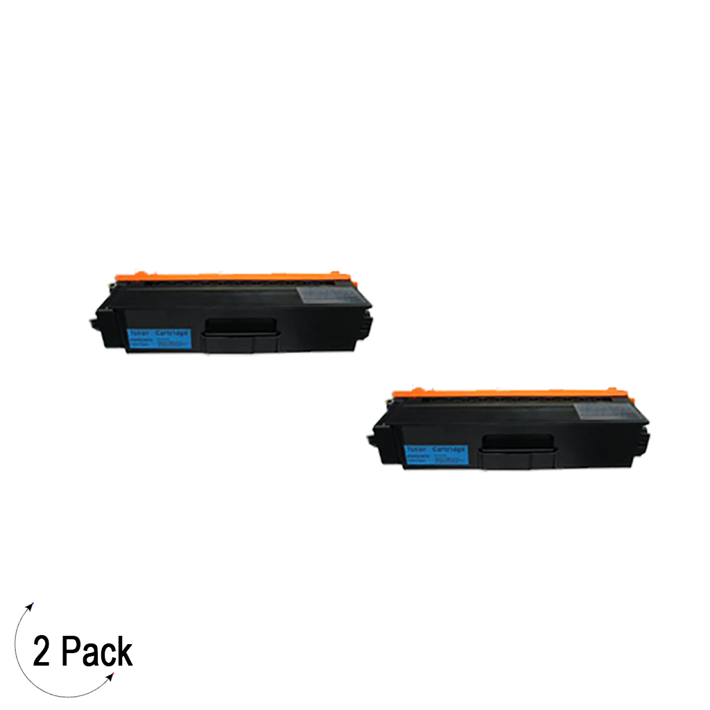 Compatible Brother TN 339 Cyan Toner 2 Pack