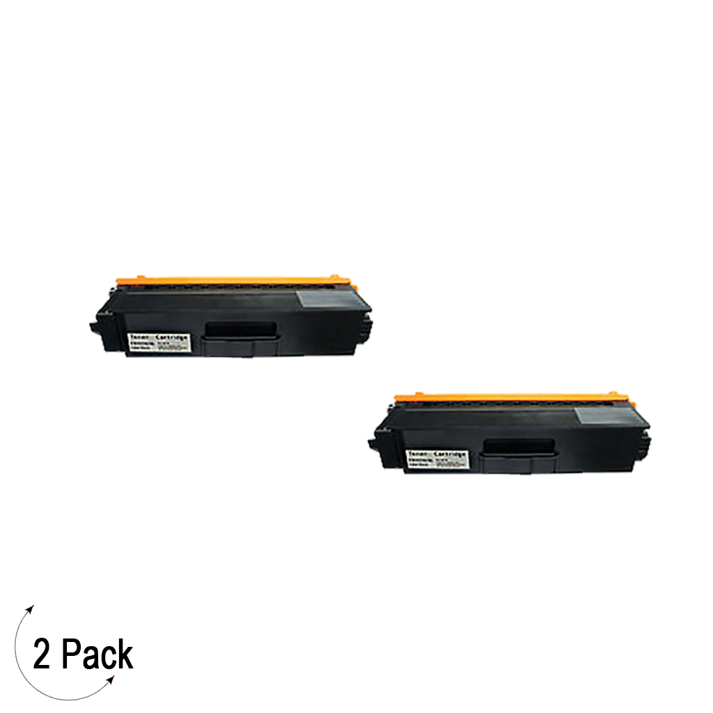 Compatible Brother TN 339 Black Toner 2 Pack