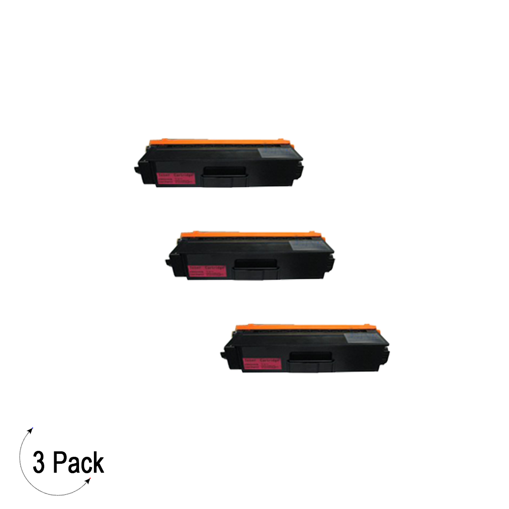 Compatible Brother TN 339 Magenta Toner 3 Pack