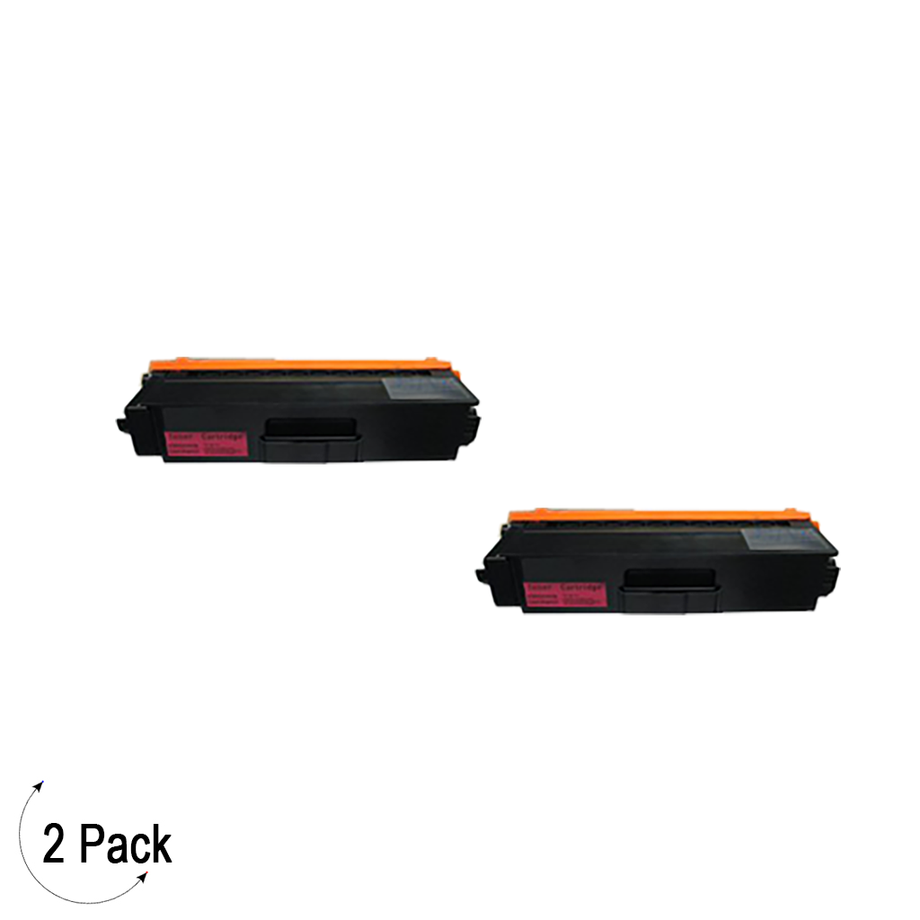 Compatible Brother TN 339 Magenta Toner 2 Pack