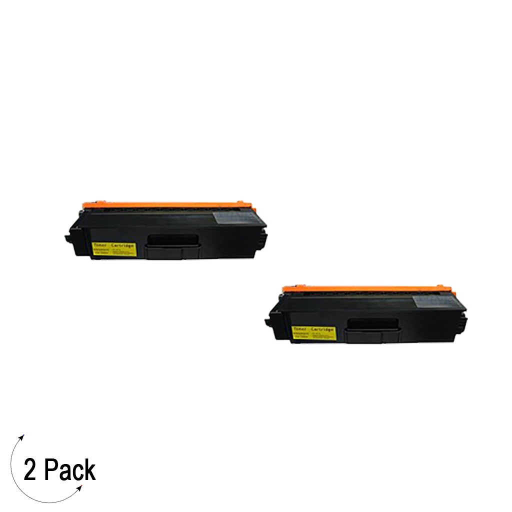 Compatible Brother TN 339 Yellow Toner 2 Pack
