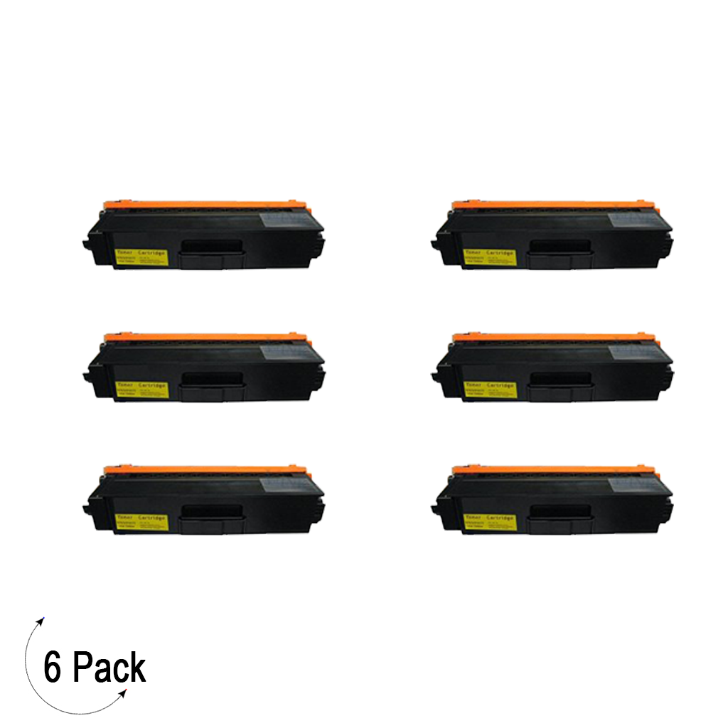 Compatible Brother TN 339 Yellow Toner 6 Pack